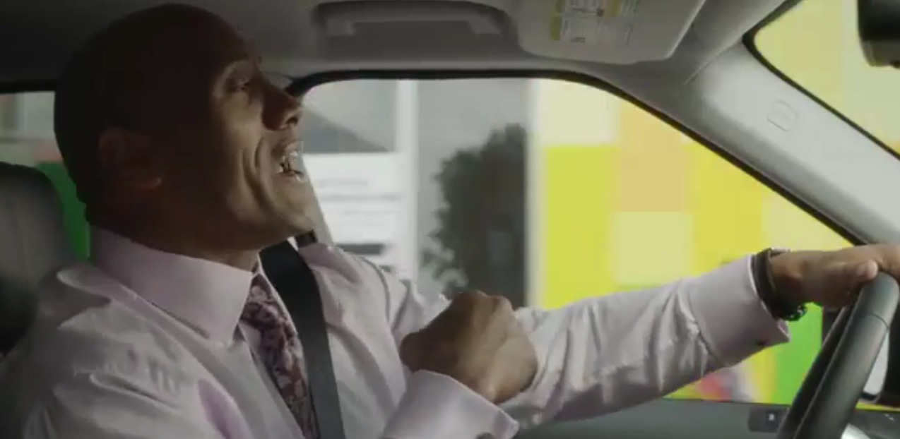Picture of The Rock Singing Shake it Off