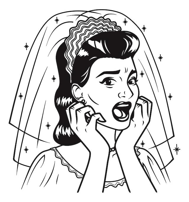 Bride-Scared