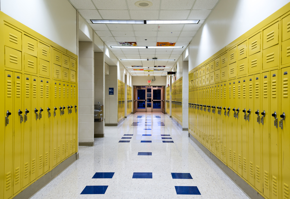 Picture of High School Lockers