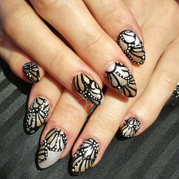 30s-monarch-inspired-nails