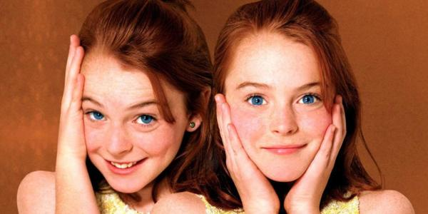 Picture of the Parent Trap Twins