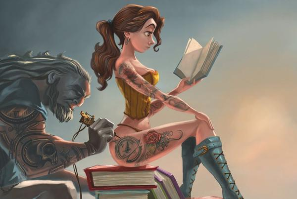 Picture of Inked Up Belle