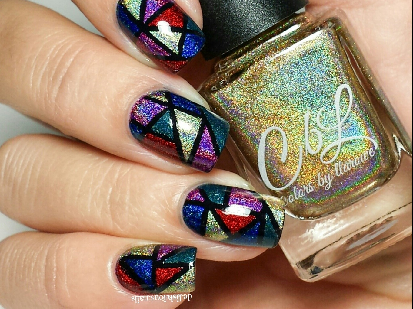 delishousnails-stained-glass