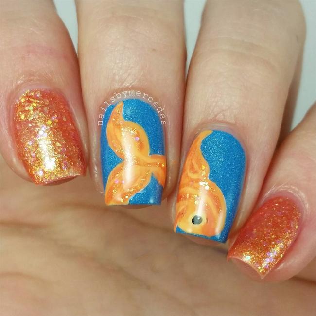 nailsbymercedes-goldfish