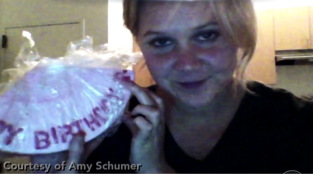 Picture of Amy Schumer Drunk Eating Cake