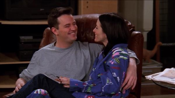 Picture of Chandler and Monica