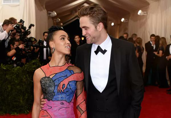 Picture of Robert Pattinson and FKA Twigs