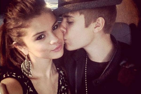 Picture of Justin Bieber and Selena Gomez