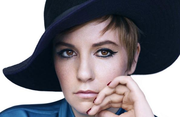 Picture of Lena Dunham on Harper's Bazaar