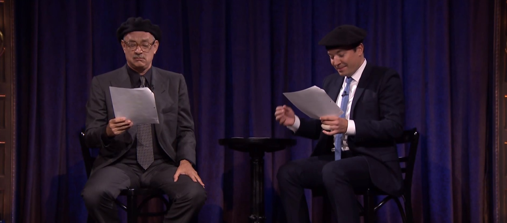 Picture of Tom Hanks Kid Theater on Jimmy Fallon