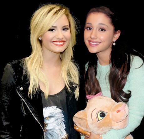 Picture of Demi Lovato and Ariana Grande