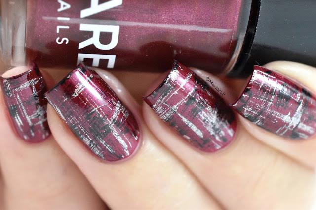abstract-tartan-nails-dry-brush (1)