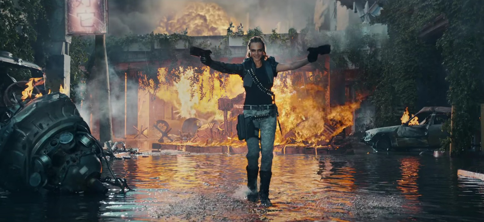 Picture of Cara Delevingne in Call of Duty Trailer
