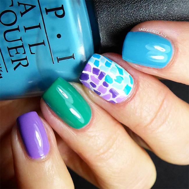 lacqueredlady-mosaic-nail