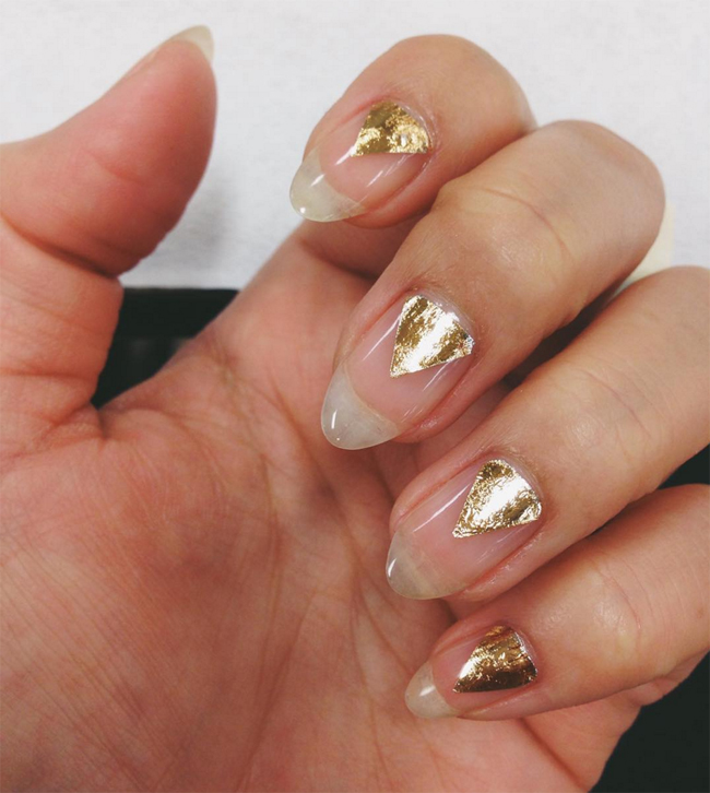 gold-triangle-negative-space-nails