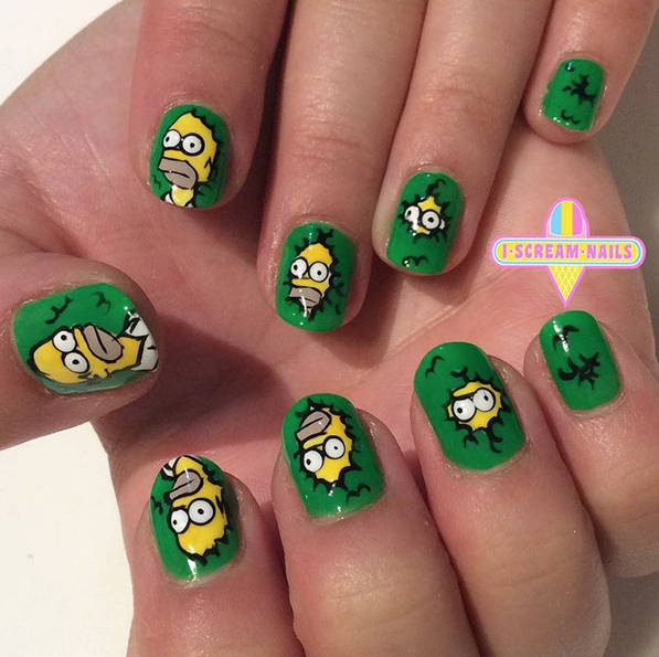 homer-simpson-nails