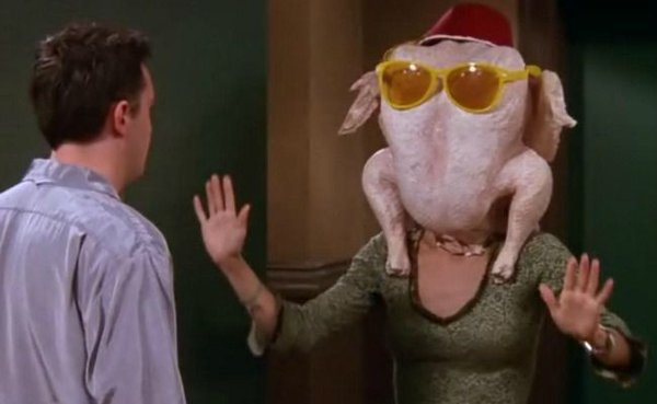 Picture of Friends Thanksgiving Episode