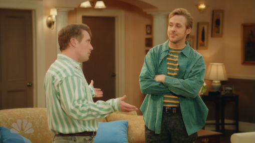 Ryan Gosling and Beck Bennet