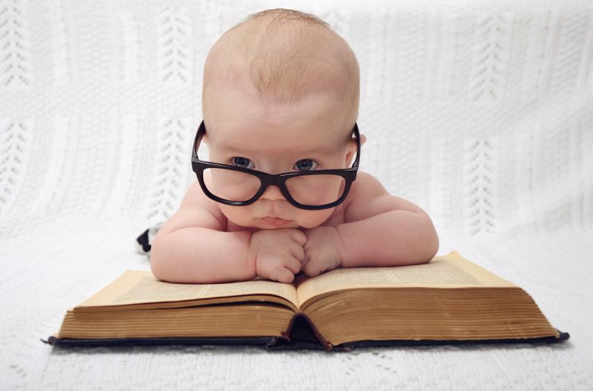 cute professor baby