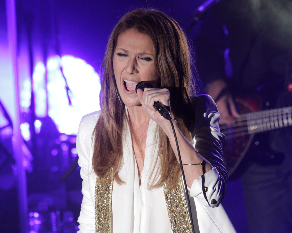 Picture of Celine Dion Singing