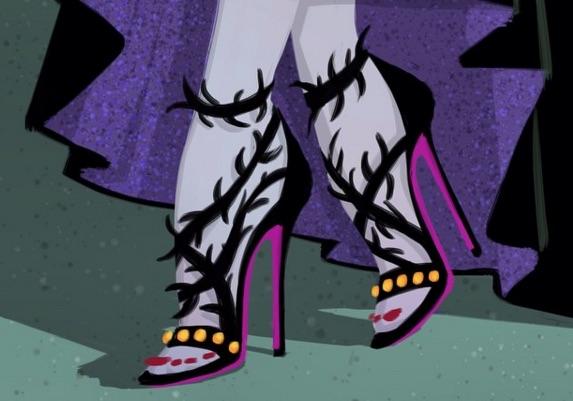 Disney fashion heels