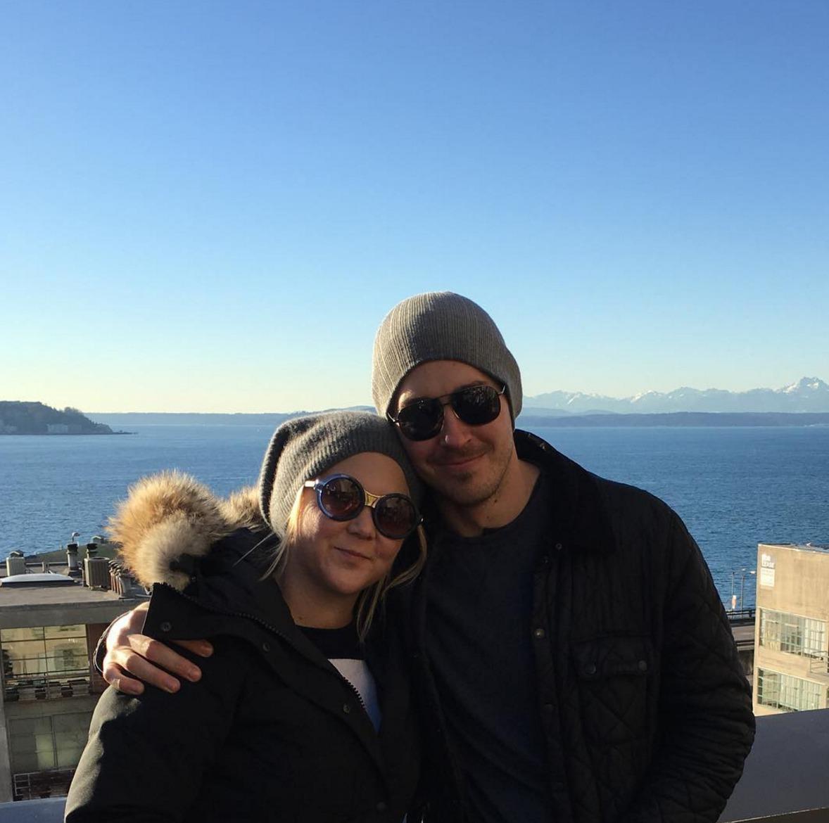 Picture of Amy Schumer and Boyfriend Ben Hanisch