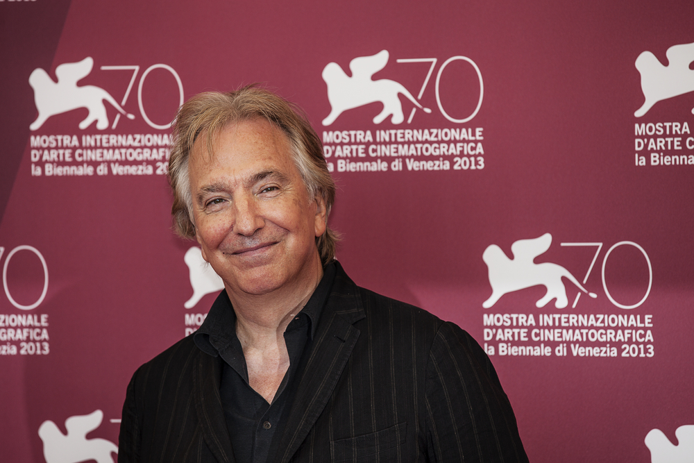 Picture of Alan Rickman in 2013