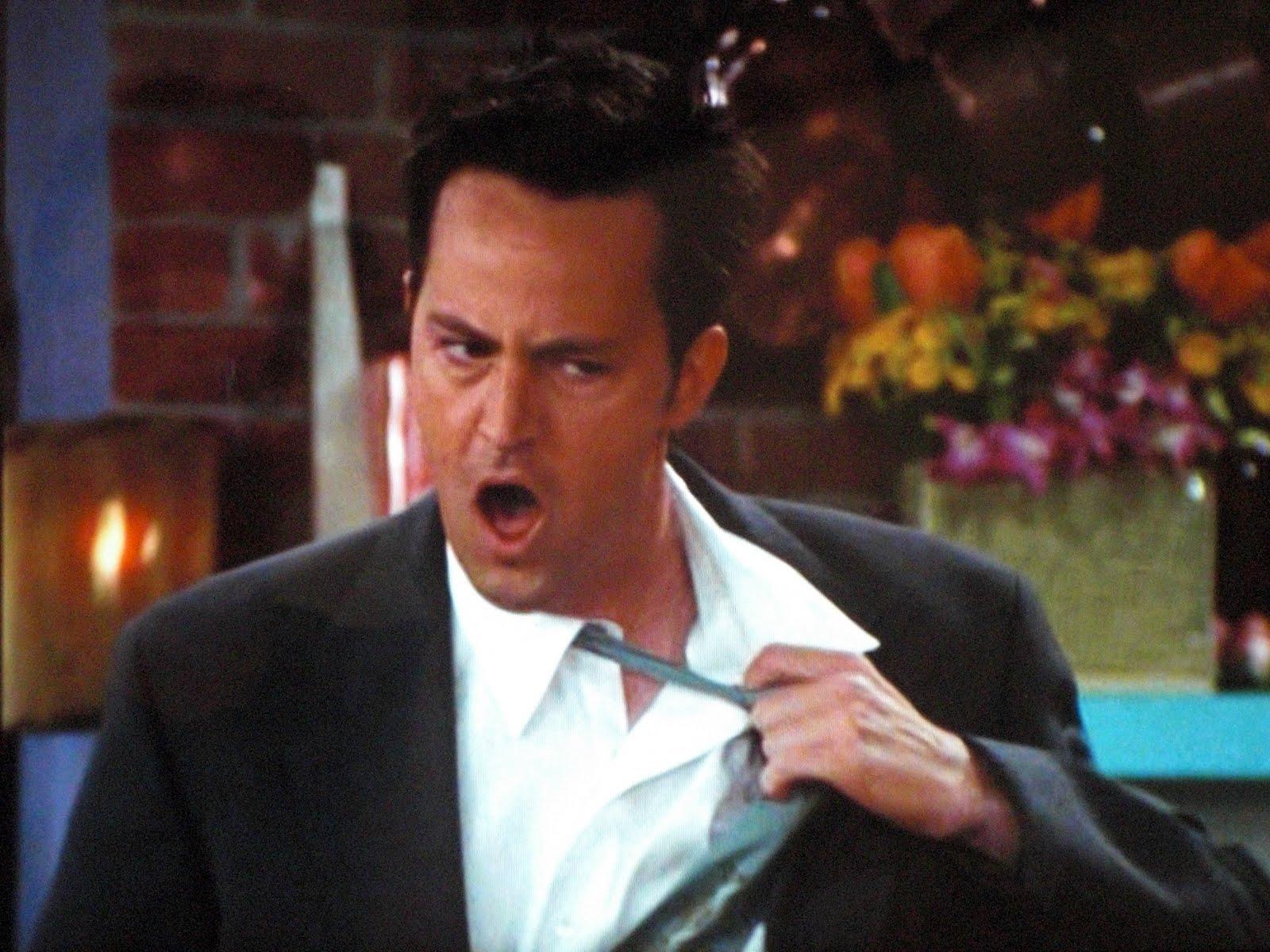 Picture of Chandler Bing Tie