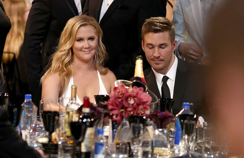 Picture of Amy Schumer and Boyfriend Ben Hanisch