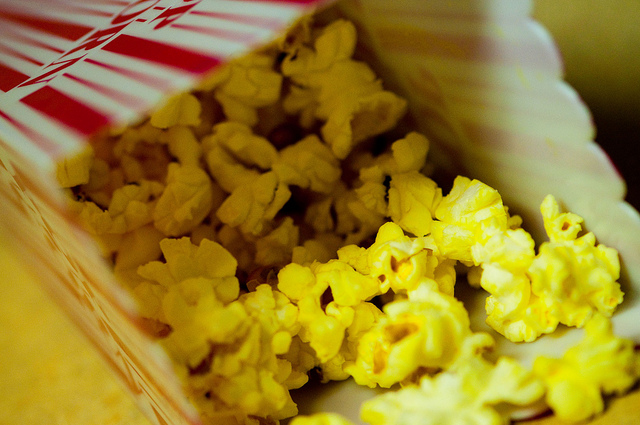 Picture of Buttery Movie Popcorn