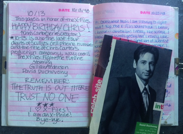 I even saved a magazine clipping with an address for sending fanmail to Duchovny – an address where I would later work!