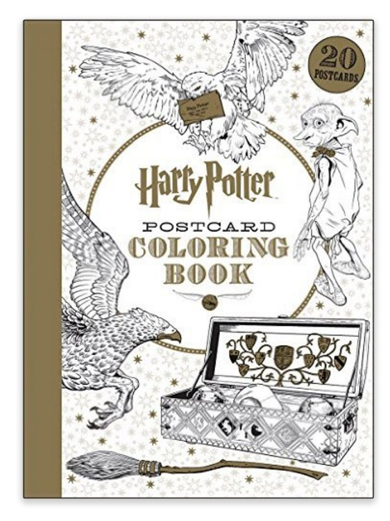 We For Real Need This Harry Potter Coloring Book Hellogiggles