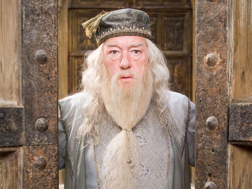 Picture of Michael Gambon as Dumbledore