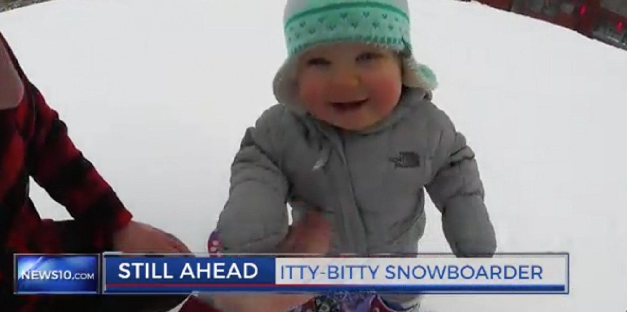 snowboard smile