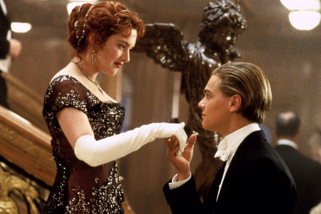 Picture of Jack and Rose in Titanic