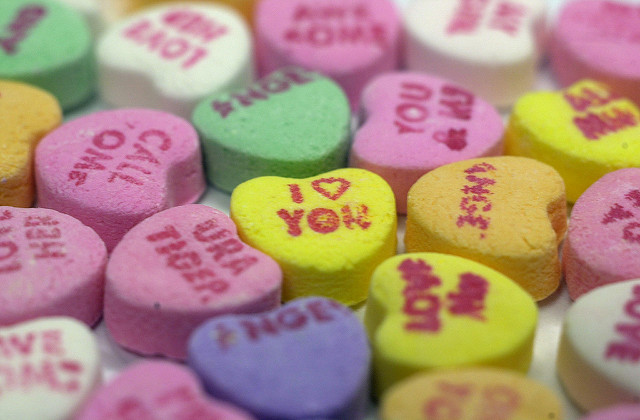 Picture of Valentine's Day Candy Hearts