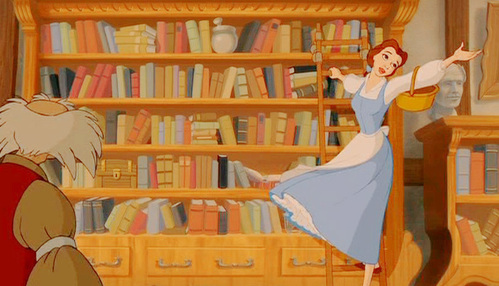 Picture of Belle in the Bookshop