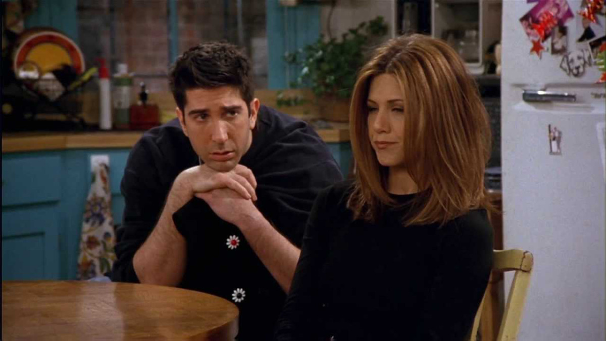 """Ross and Rachel from """"Friends"""""""