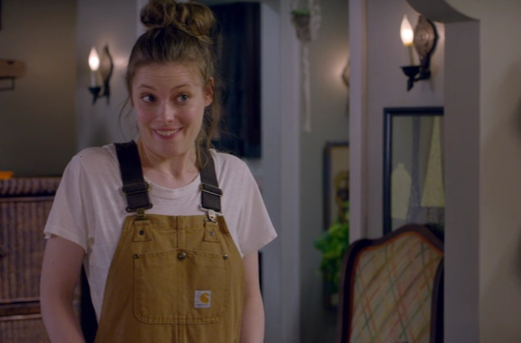 Picture of Gillian Jacobs Overalls