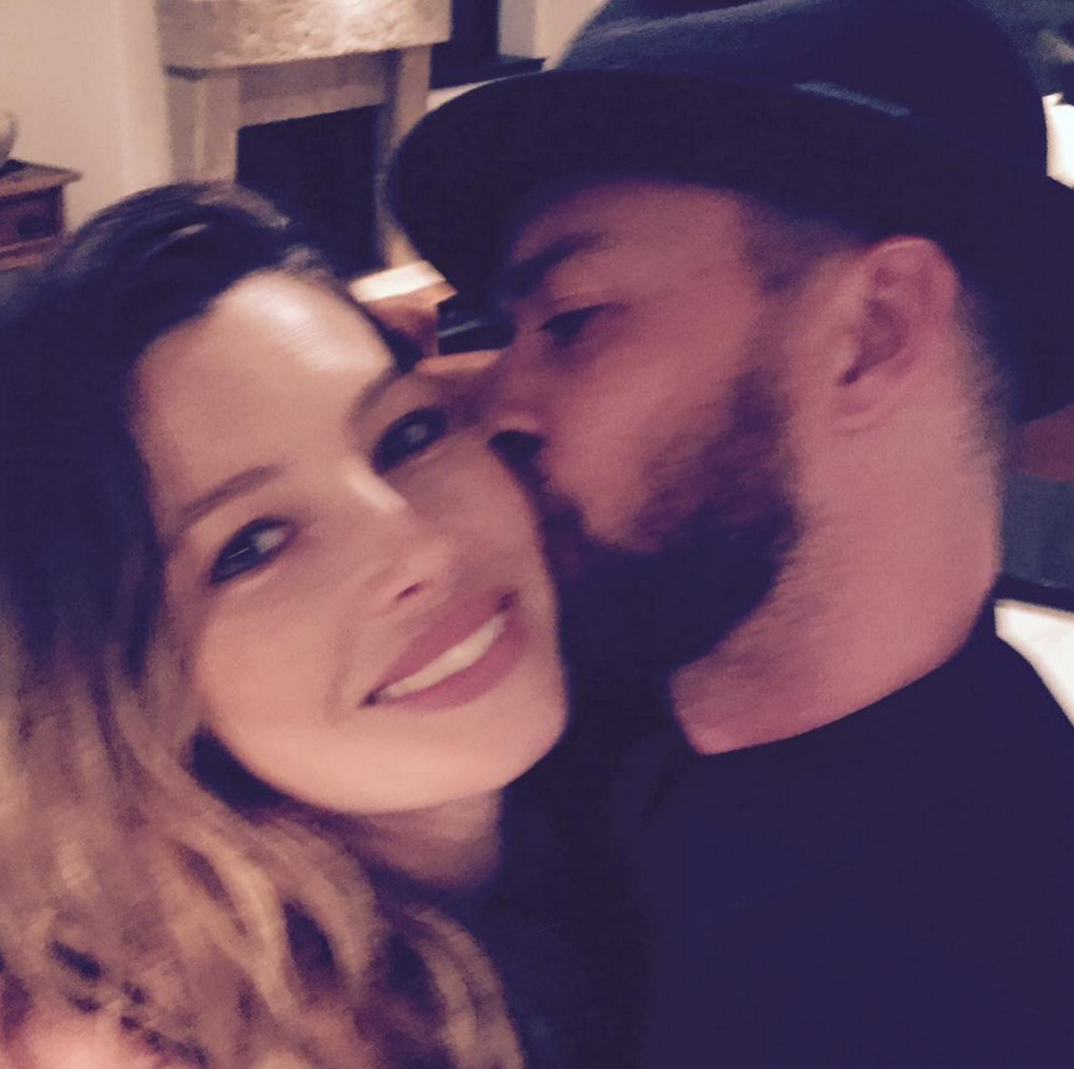 Picture of Justin Timberlake Birthday Tribute to Jessica Biel