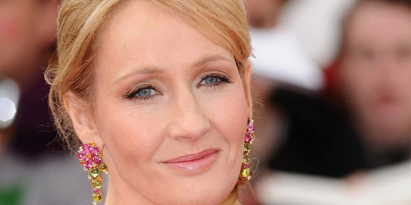 Picture of J.K. Rowling Closeup