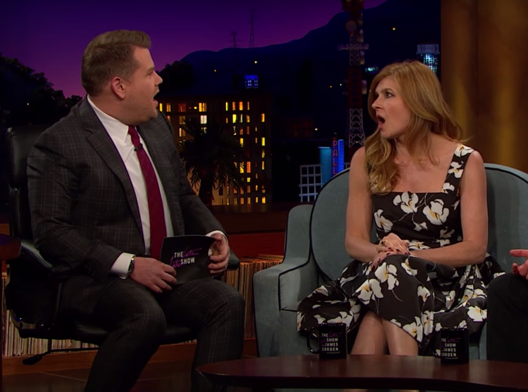 Connie Britton James Corden