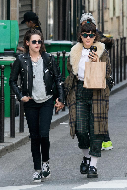 Kristen Stewart and Soko Sighting In Paris - March 15, 2016