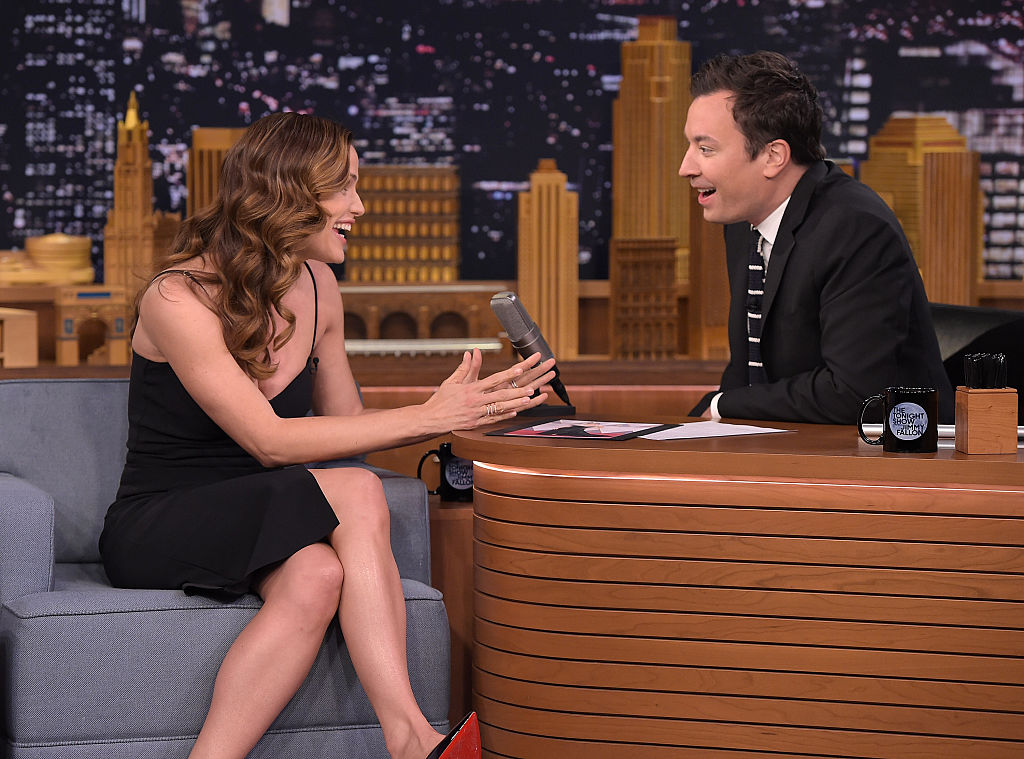 "Jennifer Garner Visits ""The Tonight Show Starring Jimmy Fallon"""