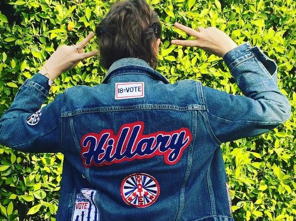 Lena Dunham Hillary Clinton