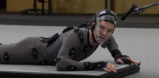 Picture of Benedict Cumberbatch Motion Capture