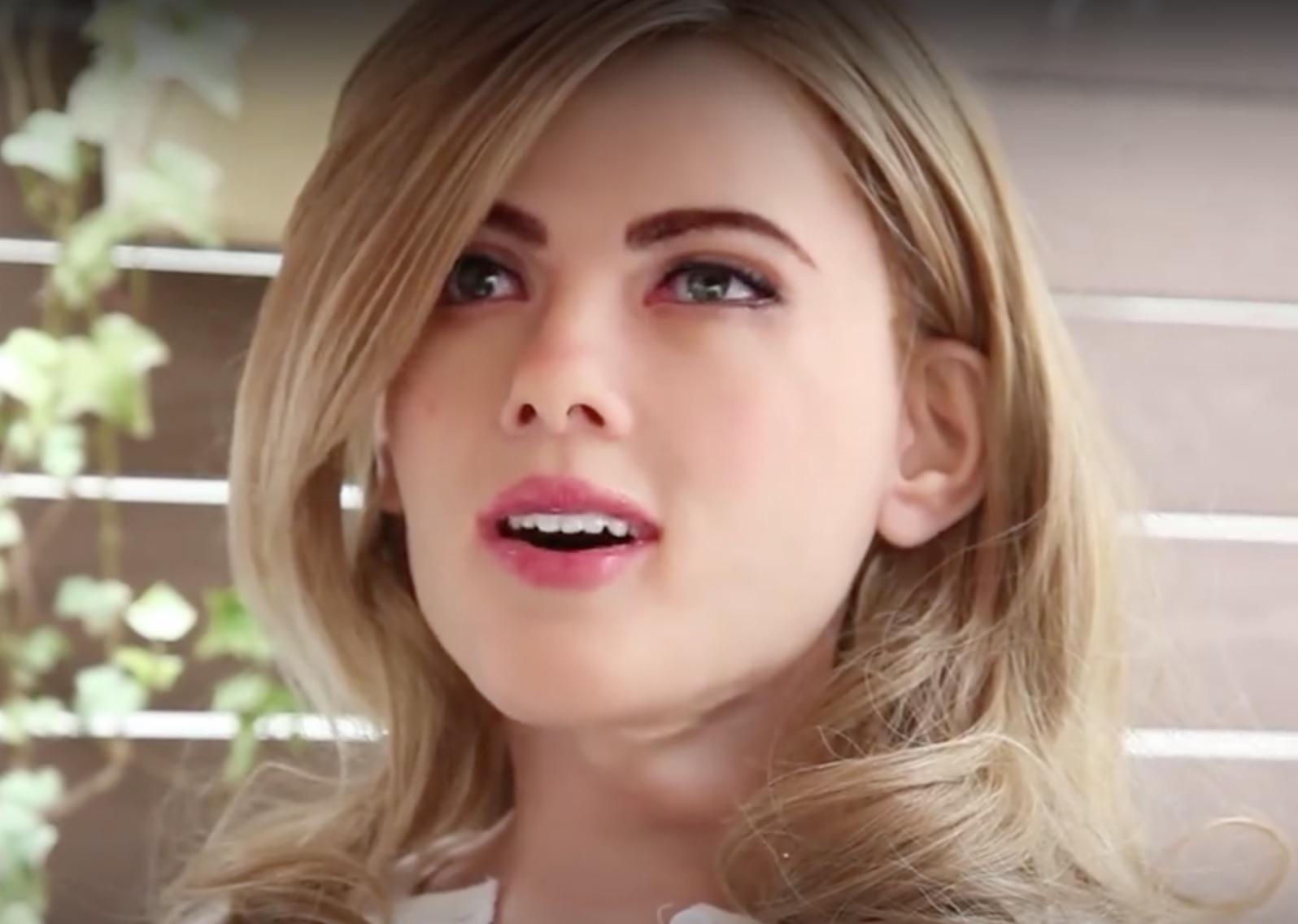 Scarlett Johansson robot