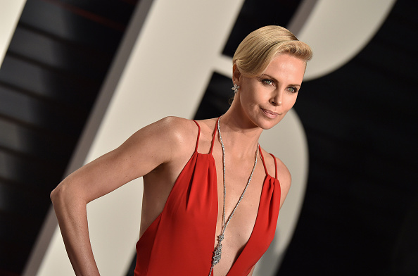 Charlize Theron pretty actress