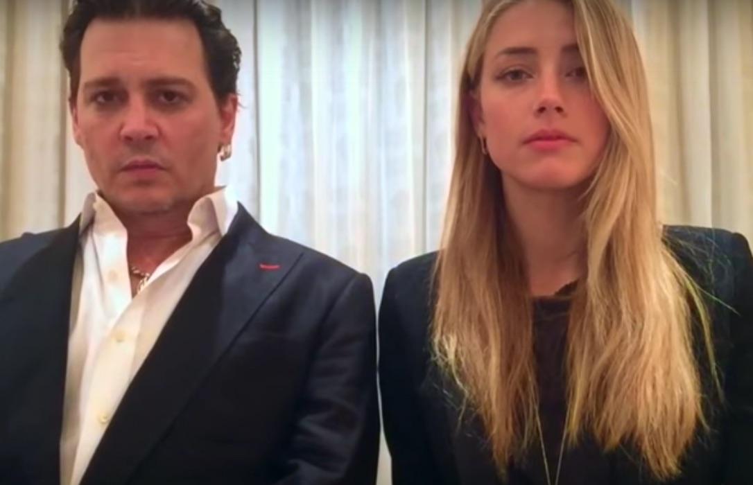 amber heard johnny depp apology video