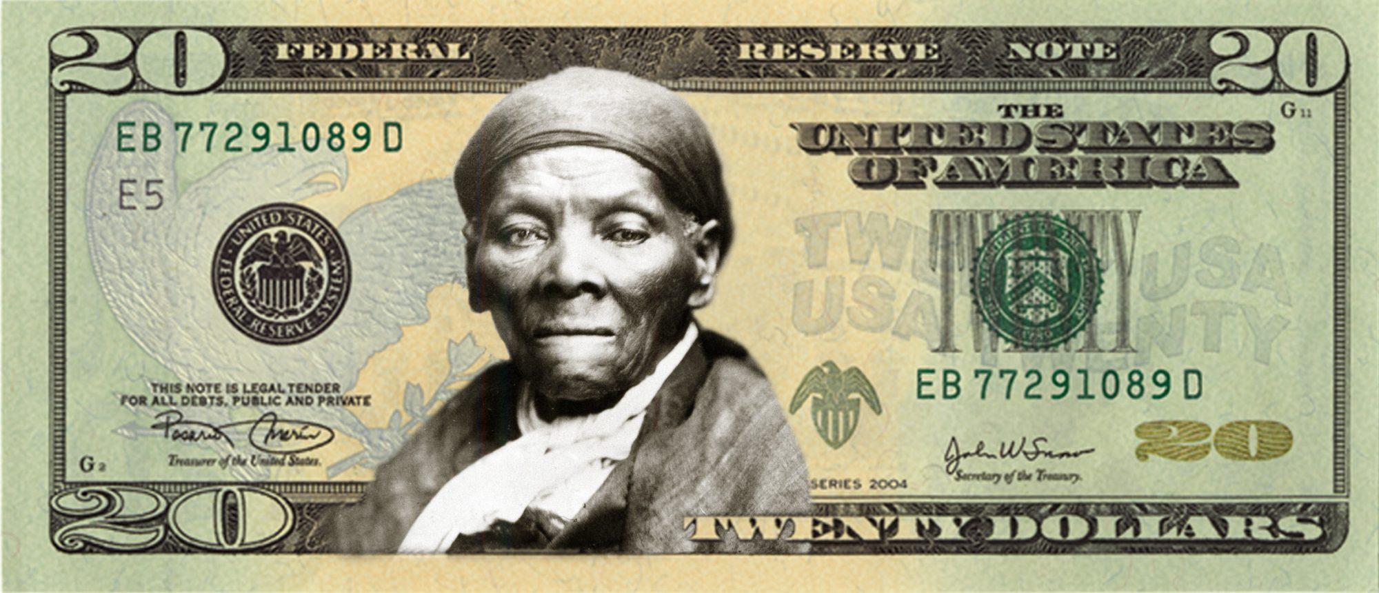 Harriet Tubman $20 bill